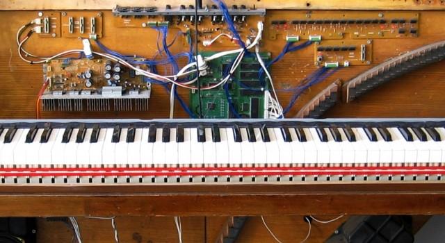 Electrified piano